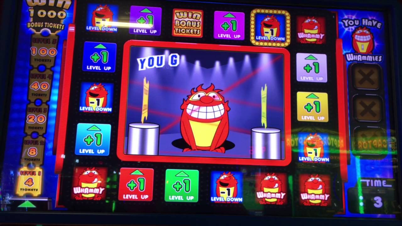Press Your Luck Gameplay Dave And Busters Ticket
