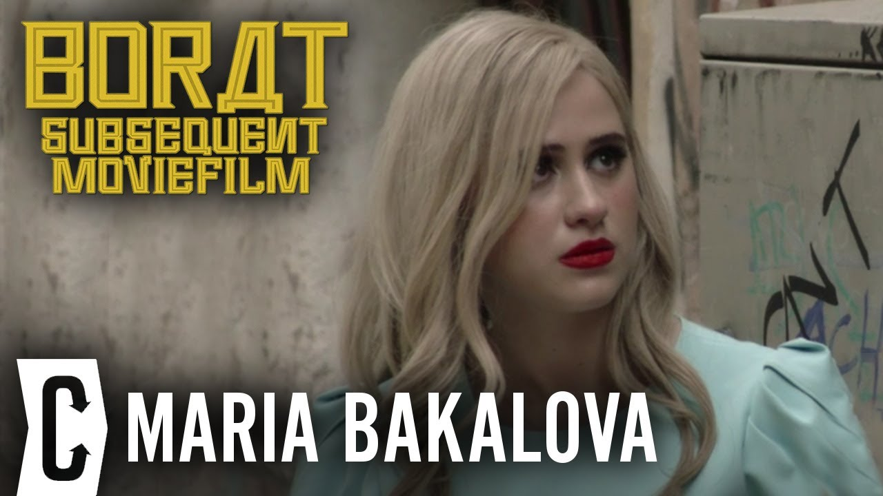 Maria Bakalova on Making Borat 2 with Sacha Baron Cohen