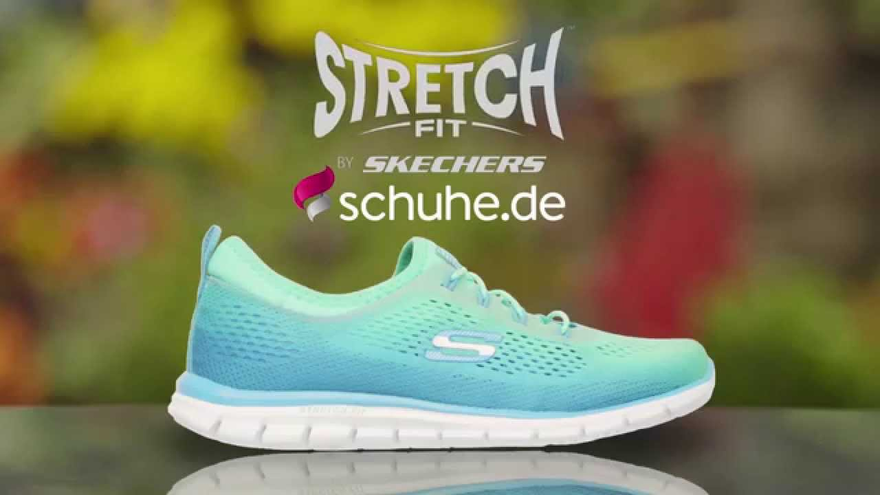großartige Qualität kinder elegant und anmutig SKECHERS Stretch Fit Glider Woman TV Werbung 2015   schuhe.de
