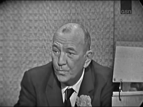 What's My Line?  Noel Coward; Robert Preston panel Jan 12, 1964