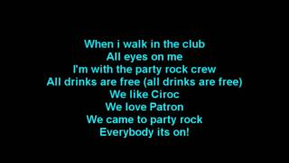 LMFAO - Shots ft. Lil Jon Lyrics