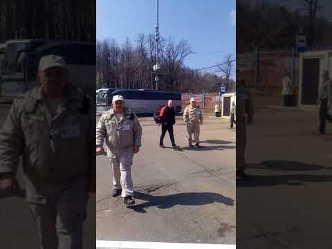 автостанция новоясеневская. беспредел охраны продолжается