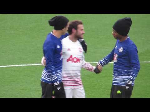 Mourinho and Mata return to Chelsea - Meeting former teammates and coaches