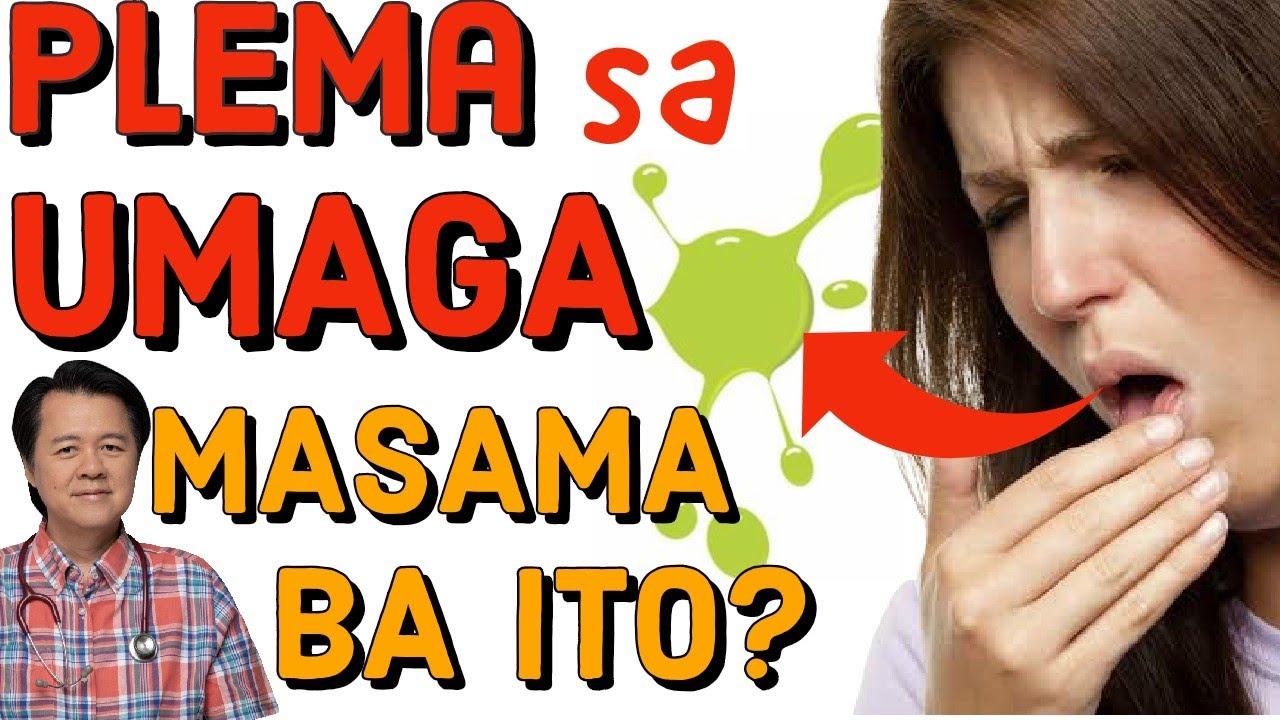Plema sa Umaga: Masama Ba Ito? - By Doc Willie Ong #1101