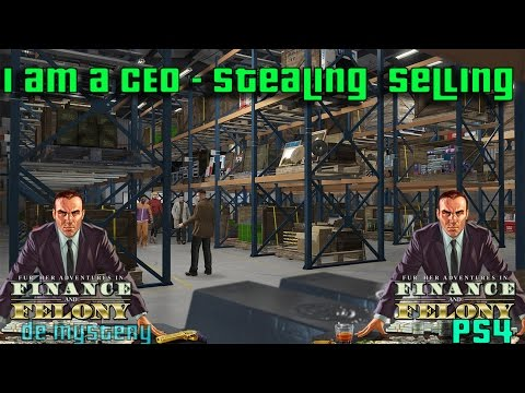 GTA V online AWESOME CEO finance jobs stealing and more (PS4)