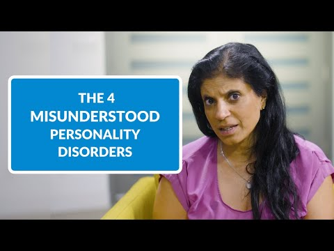 The 4 Most Misunderstood Personality Disorders & How to Spot Them