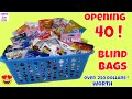 40 Blind Bags Opening Surprise Toys Kids Fun Review Unboxing Toy SURPRISES