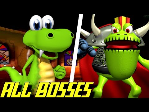 Croc - All Bosses (No Damage)