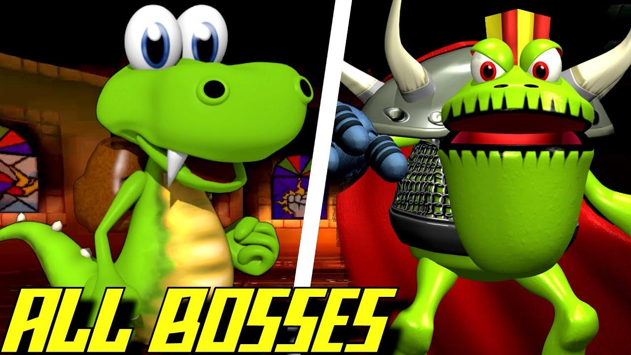 Download Croc - All Bosses (No Damage)