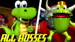 Croc - All Bosses (No Damage)