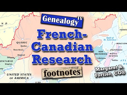 French-Canadian Genealogy Research