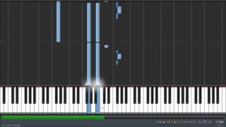 Coldplay - Trouble Synthesia