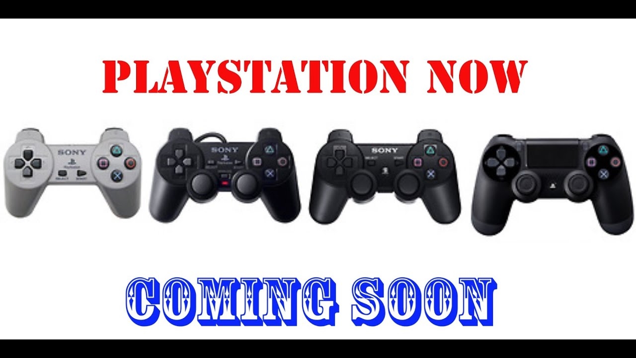 Playstation Now Play Ps1 Ps2 Ps3 Games To Ps4