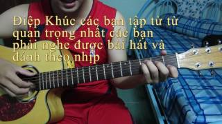 Hướng Dẫn My love guitar solo by SMR Pcuoi