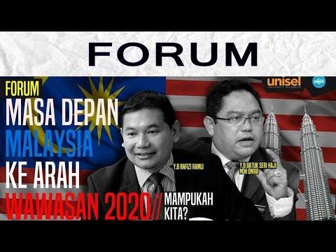 Forum Masa Depan Malaysia Ke Arah Wawasan 2020: Mampukah Kita? Bhgn 1