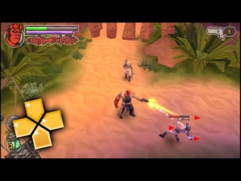 Hellboy The Science of Evil PPSSPP Gameplay Full HD / 60FPS