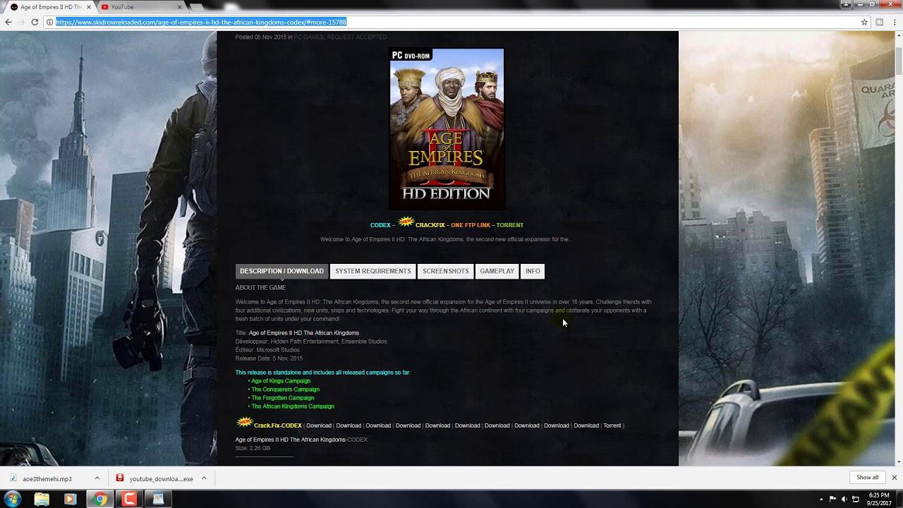 Скачать age of empires 2: hd edition торрент бесплатно от r. G.