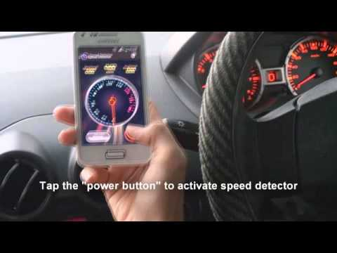 Speed Detector Mobile Application