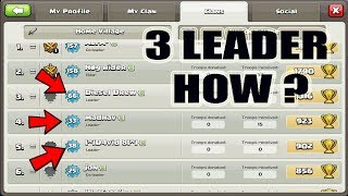 [OMG] Clash Of Clans - 3 LEADERS IN ONE CLAN ? Multiple leaders in one clan? (HINDI)