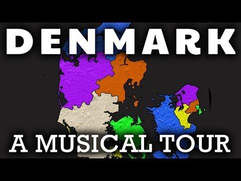 Denmark Song For Kids   Regions of Denmark   Danish Geography