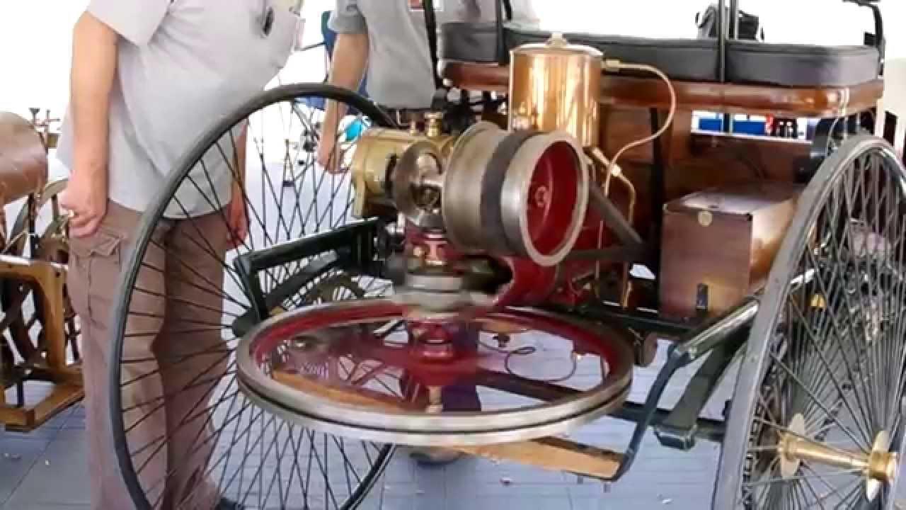 1886 Benz Patent-Motorwagen - First Automobile - YouTube