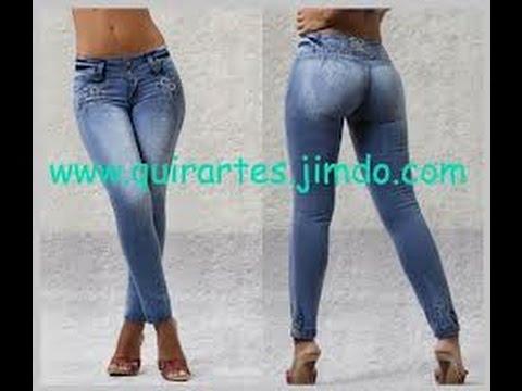Culo grande sabroso en jeans ajustados