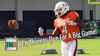 WR Jeff Thomas Working for Breakout Game | Get Him The Ball!