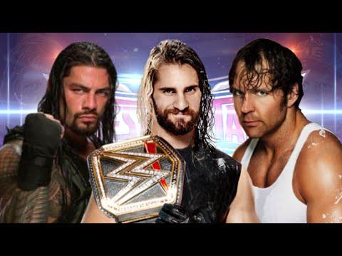 Roman Reigns vs Dean Ambrose vs Seth Rollins Wrestlemania 32 Promo