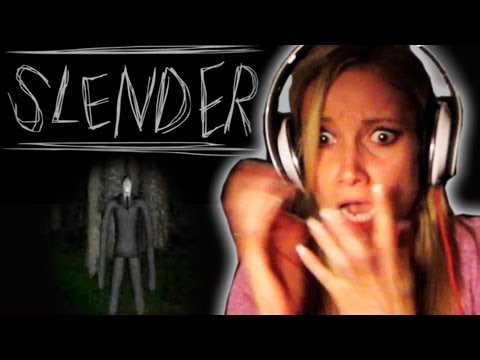 GIRLFRIEND PLAYS SLENDER