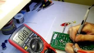 LG MF6587RFS - ремонт мікрохвильовки , яка живе своїм життям