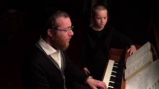 Yanky and Mendy Lemmer sing Karev Yom | יעקב ומנדי למר קרב יום של בלז
