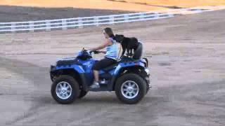 Dog Training San Diego-pit Bull  Riding On A Atv