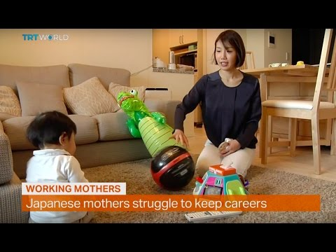Money Talks: Japanese mothers struggle to keep careers