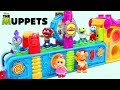 Disney Jr Muppet Babies Visit Magic Play Doh Mega Fun Factory for Surprise Toys!