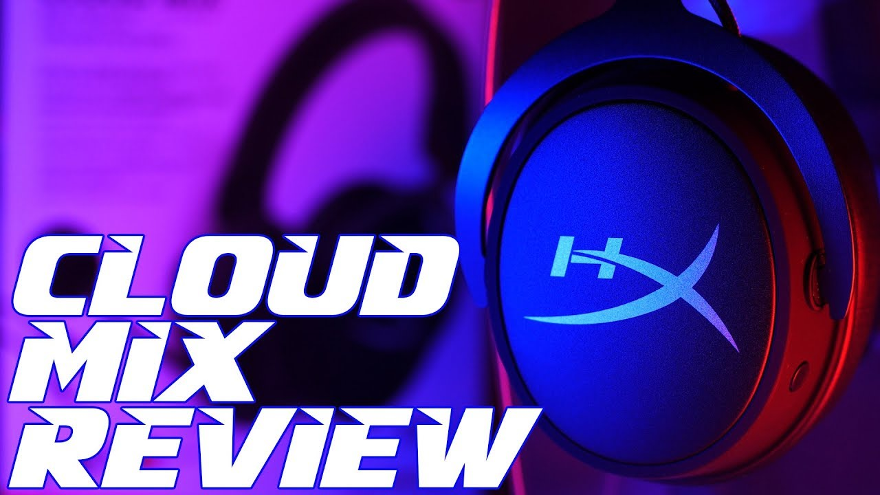23dee891798 HyperX Cloud MIX Bluetooth Gaming Headset Review - YouTube