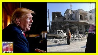 President Trump Warns of Carnage in Rebel Stronghold in Syria