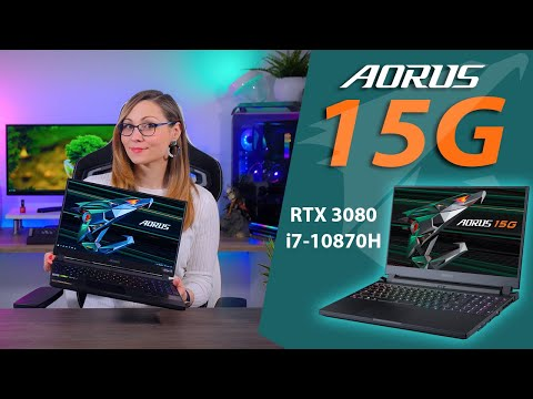 Good Job Gigabyte - Aorus 15G Review (105W RTX 3080, i7-10870H, 32GB, 240Hz FHD IPS)