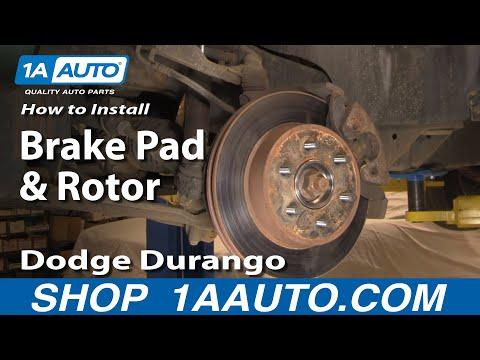 Nakamoto Emergency E-Brake Parking Brake Shoe Set for Durango Aspen Ram Truck