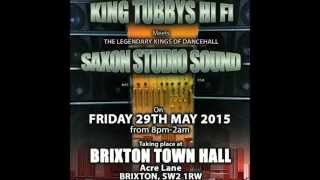 SAXON STUDIO VS KING TUBBYS 2015
