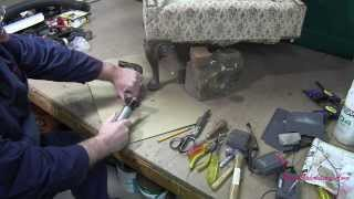 Upholstery How To Repair A Damaged Chair Leg
