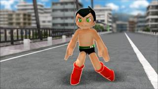 (MMD Short) Astro Boy vs. Mega Man