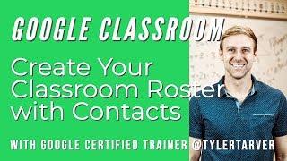 Erstellen Sie Ihre Klassenzimmer Dienstplan mit Kontakte - GOOGLE CLASSROOM