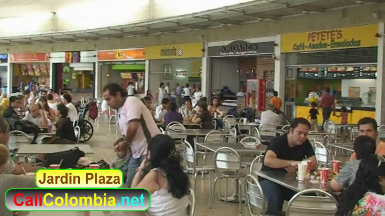 Restaurantes in jardin plaza food court youtube for Bodytech cali jardin plaza