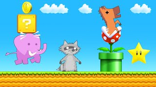 DODGE The SUPER MARIO TRAPS Or DIE! (Ultimate Chicken Horse)