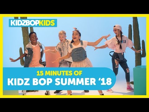 KIDZ BOP Kids - Havana, New Rules, Anywhere & other top songs from KIDZ BOP Summer '18