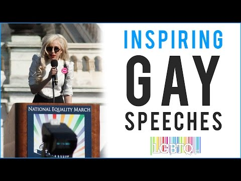 Inspiring Gay Speeches from Celebrities