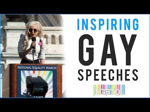 Inspiring Gay Speeches from Celebrities
