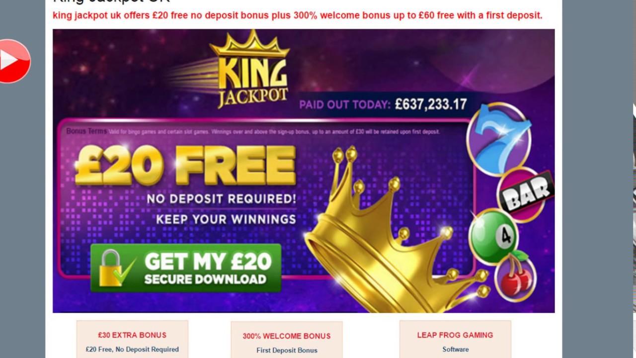 online casino no deposit king casino
