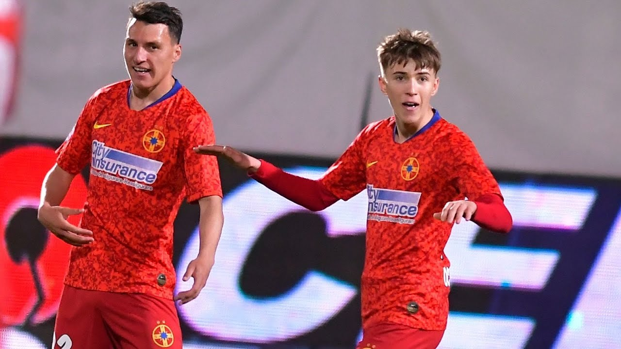 REZUMAT | FCSB - Sepsi OSK 1-2. Octavian Popescu a marcat un nou gol frumos
