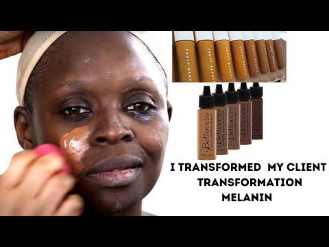 BRIDAL MAKEUP AND GELE TRANSFORMATION| FOR DARK SKIN